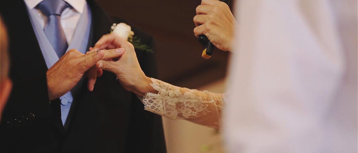 Ceremonia de boda en la Capilla de la finca la Bobadilla