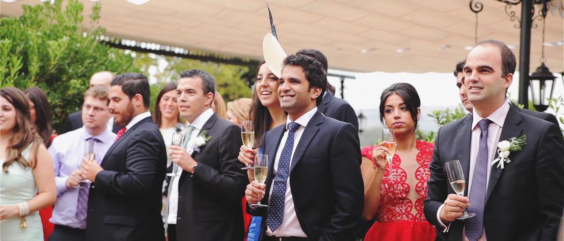 Invitados en la boda en hotel La Bobadilla Granada