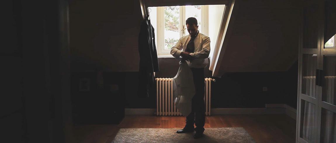 Preparacion del novio en Limonar 40