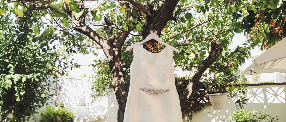 Vestido de novia en Málaga