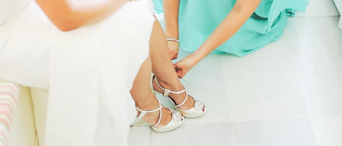 Preparación de una novia