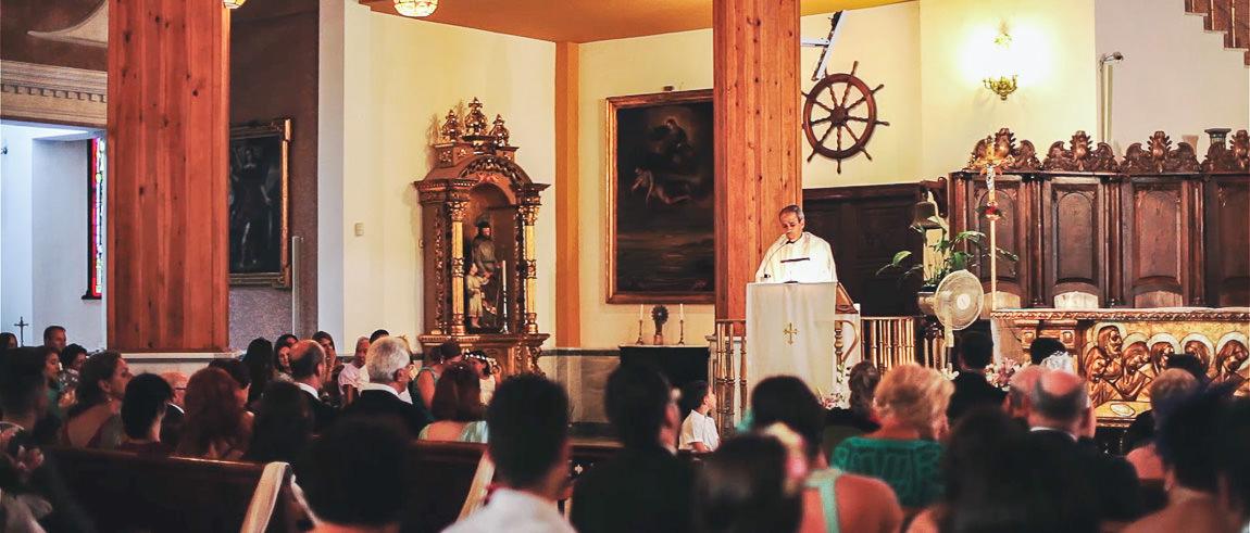 Boda en Iglesia Santa Maria del Mar en Torremolinos