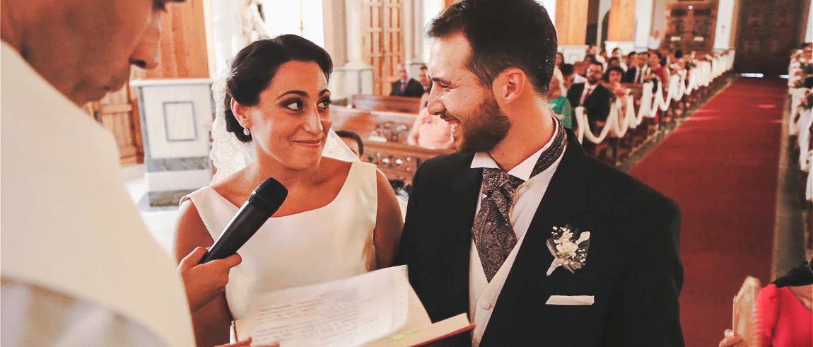 Ceremonia de una Boda en Iglesia Santa Maria del Mar