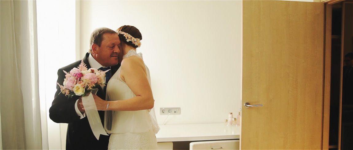 Primer encuentro del padre con la novia