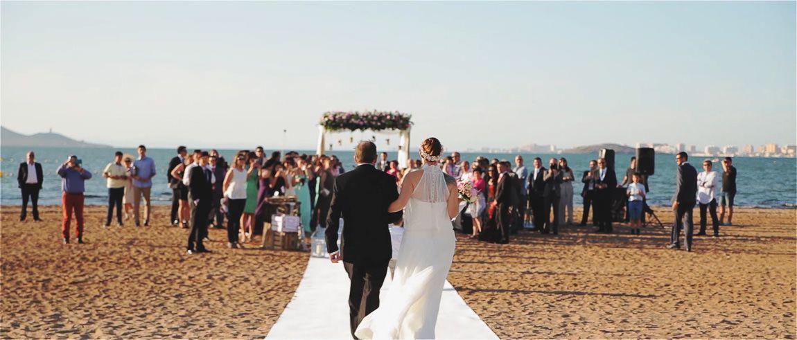 Bodas en la playa de Malaga