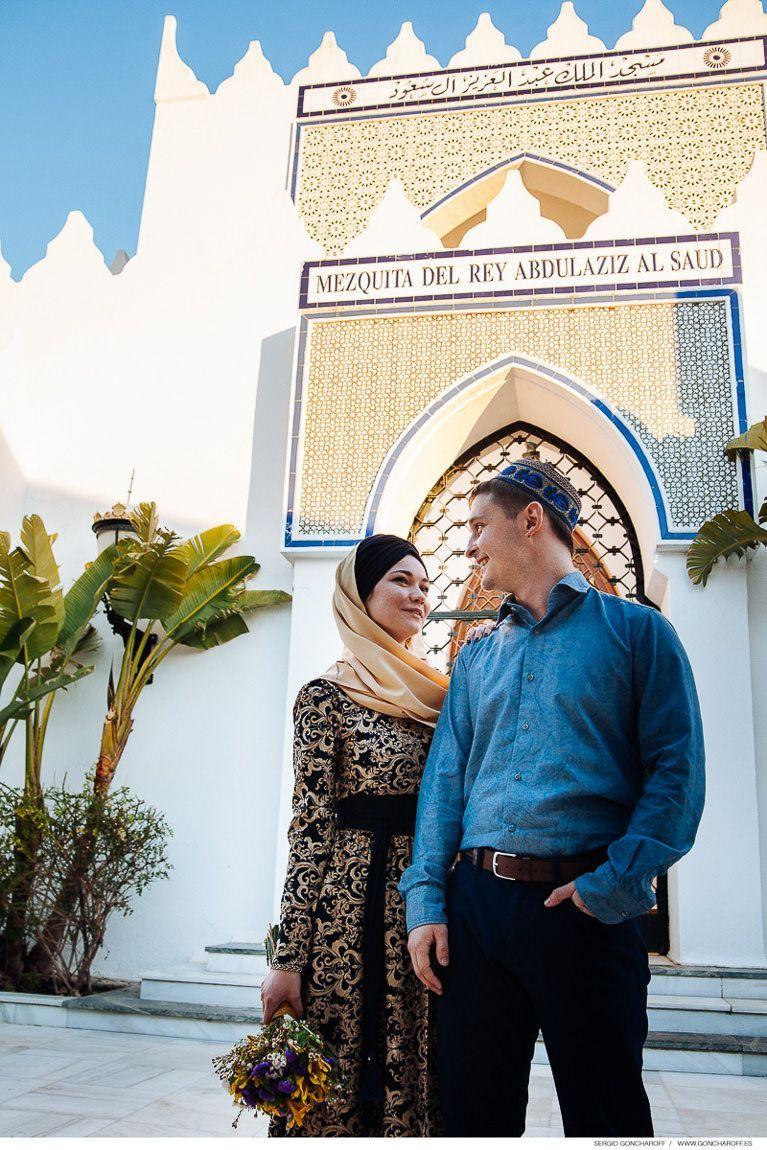 Boda musulmana en Mezquita del Rey Abdelaziz de Marbella