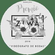 ZIWA premio de videografo de 2016