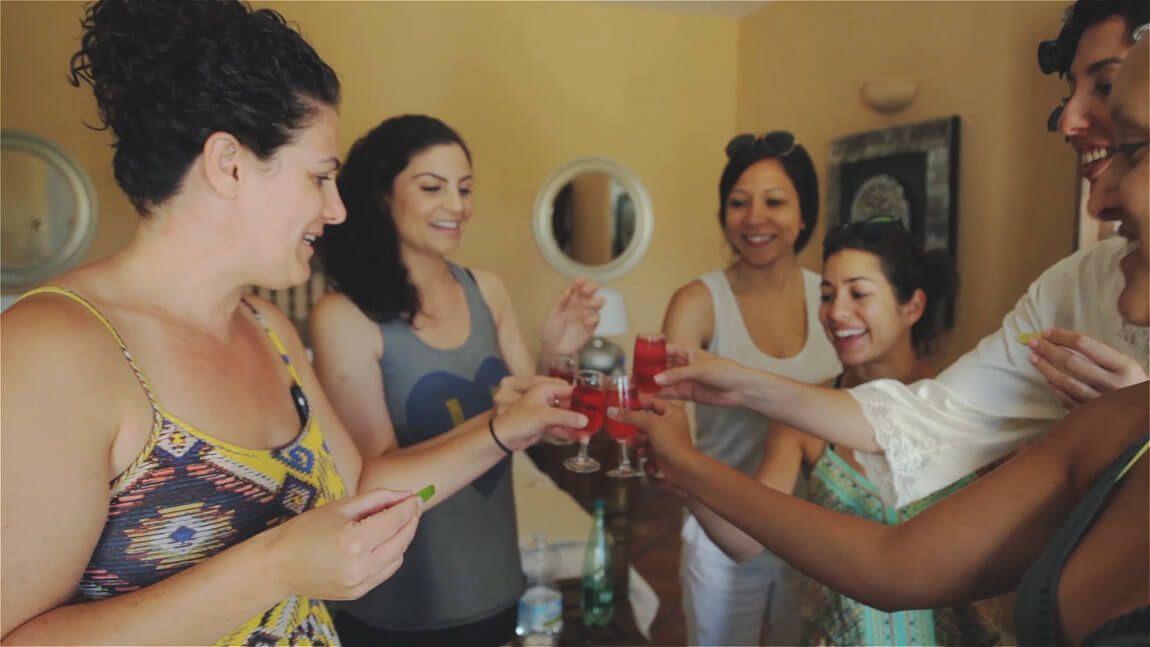Preparacion de la novia en una boda en Finca San Jose de Mijas