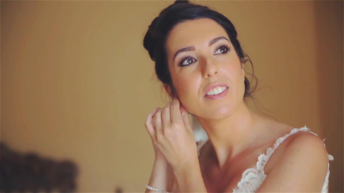 Preparacion de la novia en hacienda San Jose de Mijas en una boda