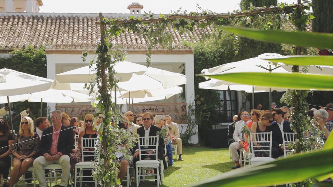 Ceremonia civil en hacienda San Jose de Mijas
