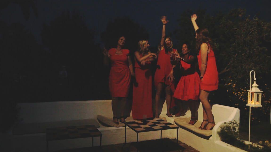 Fiesta con canciones para bodas originales en finca San Jose de Mijas