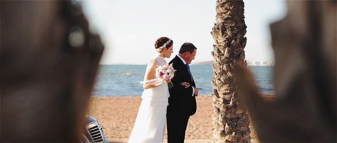 Bodas en la playa de Mar de Cristal
